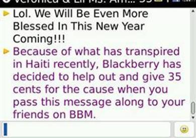 BBM Spam Broadcast